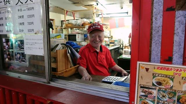 2代目の龍雄さん(78歳)も現役