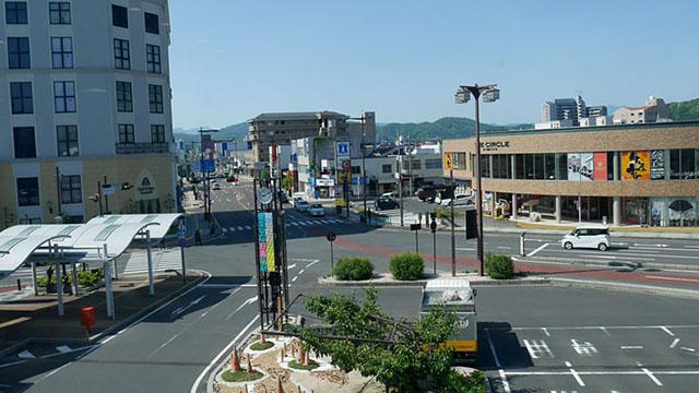 鳥取・倉吉駅