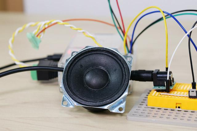 信号が変わると同時に、スピーカーからは「通りゃんせ」のメロディが流れる。これはもちろん、浜寺交通遊園で録音した実機のメロディだ