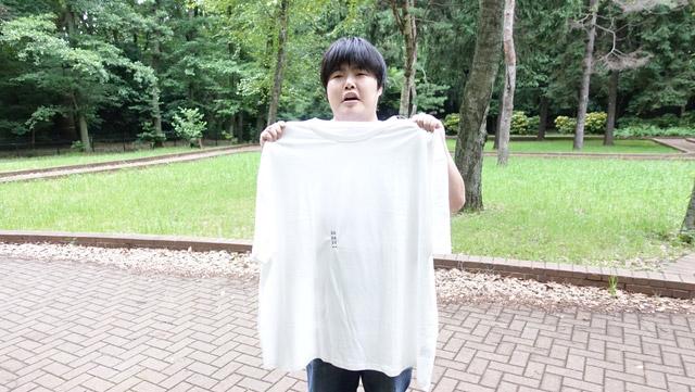 ちなみに無地のTシャツも10Lはほとんどないそうです。