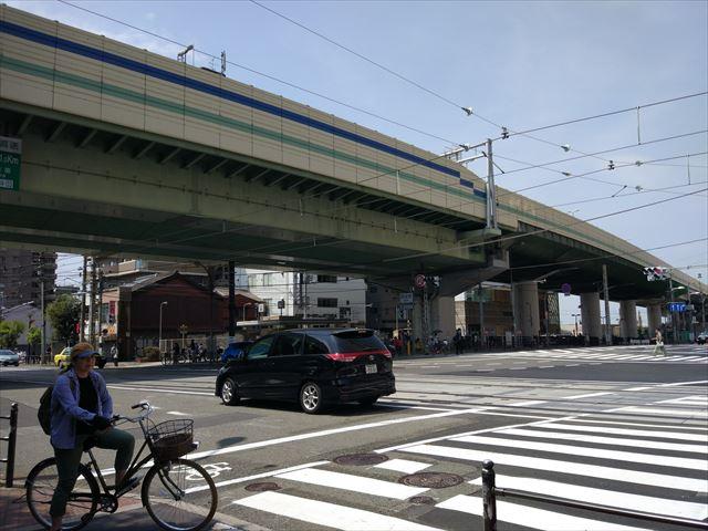 その駅前から南へ真っ直ぐ。
