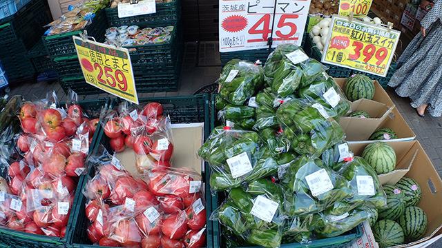 単純に美味しそうな野菜が安くて買ってしまいそう。