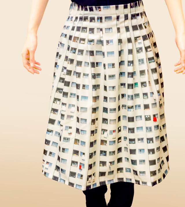 団地スカート! ちょうすてき!