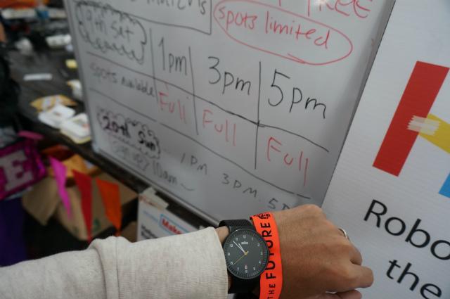 初日の出場枠は10時のオープンから1時間もしないうちにいっぱいに!