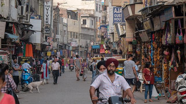 ストリートファイターのステージになってもいいくらいインドっぽい写真が撮れる