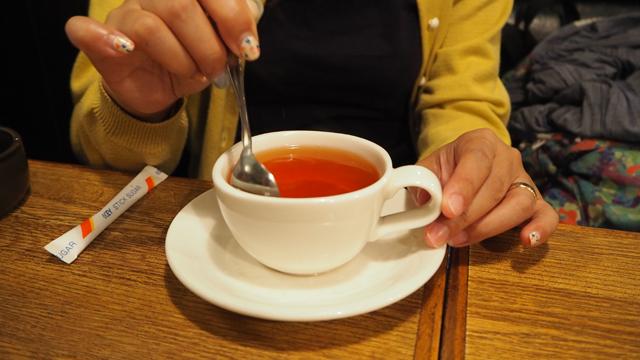 あと、紅茶も朝っぽさがすごい。同行してくれていた編集部・橋田さんが頼んでいたのだが、立ち込めるにおいのすべてが、朝にあふれていた
