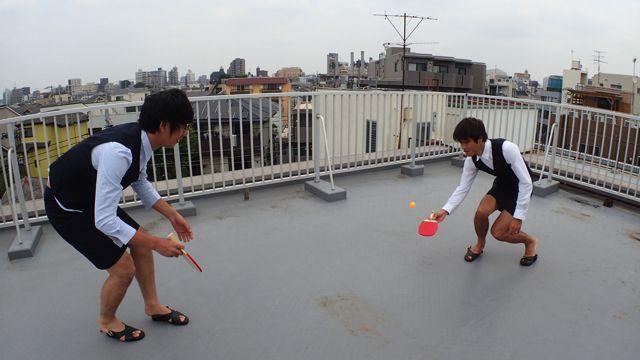 今度は卓球をやってみる。