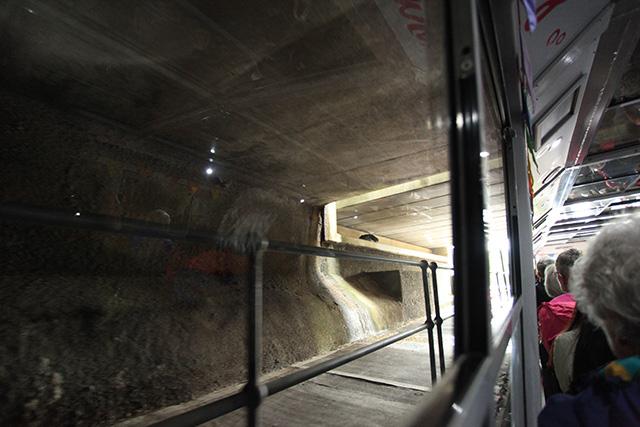 少し進むとトンネルをくぐる