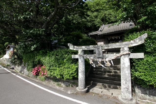大野集落全体の守り神として古くから祀られていた大野神社