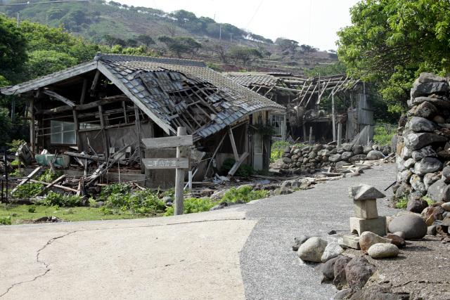 野崎島最古の集落にして最後の集落でもあった野崎集落
