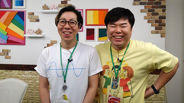 左)よしださん 右)八木光太郎さん