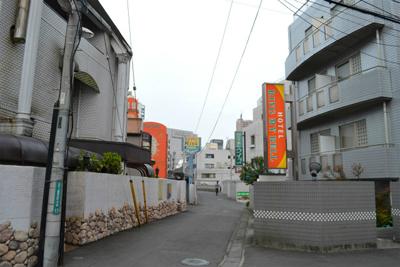 JR町田駅の南側はラブホテル街