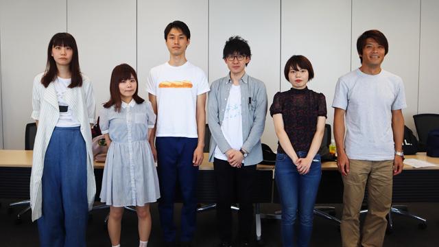 左から井口さん、米田さん、トルーさん、筆者、與座さん、安藤さん
