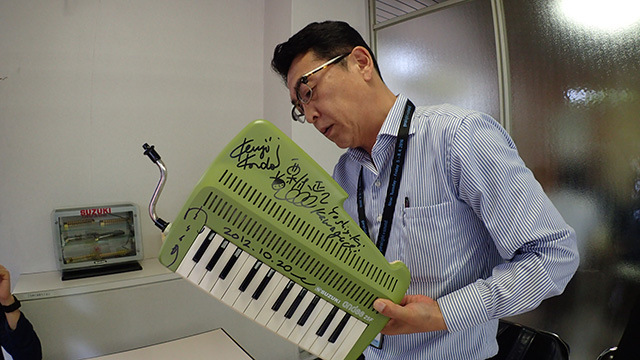 多田さん「いいですよ、楽器は演奏するためのものなんだから。」