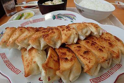 多田さんにごちそうしてもらった餃子がまた最高に美味しかったです。そうだ、浜松は餃子の町だった。