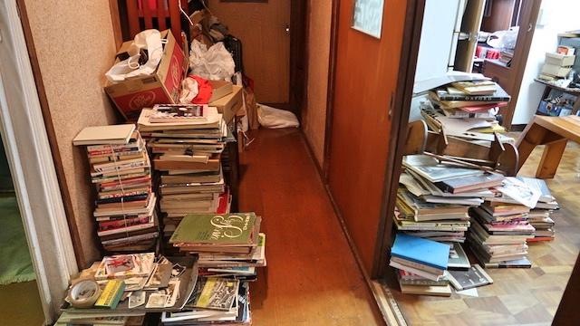 「大したものじゃない」という廊下の古本
