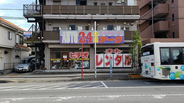 「音楽堂」→(つぶれた)レンタルビデオ屋