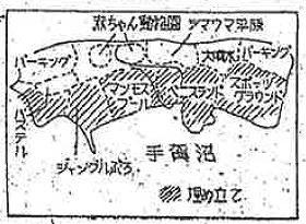 当初のものとはガラッと変わり、計画図には沼南村側の記載が無い(読売新聞1962年8月11日より)