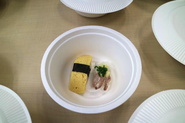 寿司がでたときは「寿司は食べたい!!」「寿司は欲しい!!!!」と全員から黄色い歓声がでるほどテンションがあがった
