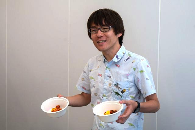 石川さんは「オムライス」を獲得した。「両手にオムライス持つとバカっぽくて良い」ということもわかった。一生役に立たない知恵だ。