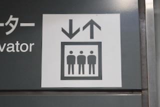 案内用図記号 5.1.27 「エレベーター」