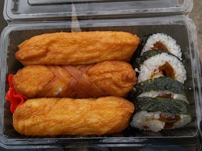 いなり寿司が長いらしいよ(埼玉の細長い稲荷寿司「聖天いなり」)
