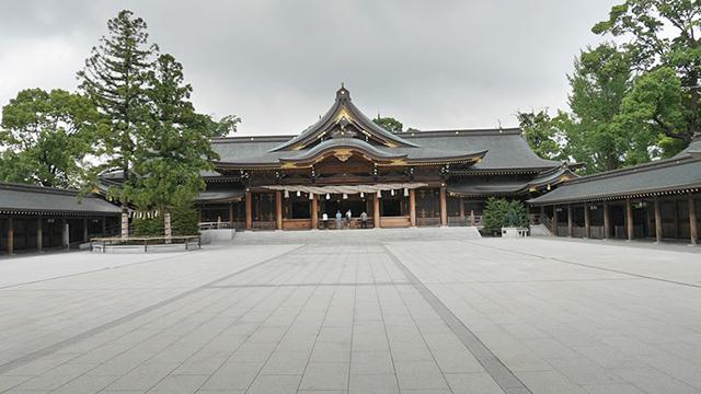 神奈川県にある寒川神社。相模国一宮にあたる