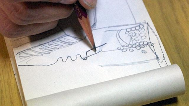 図で分かりやすく刃文の仕組みを教えてくれた。先生向きかもしれない。