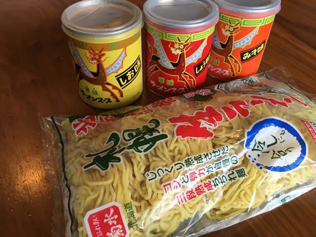 麺は菊水の「札幌生ラーメン」に決まっているという。