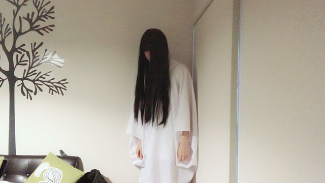 幽霊の練習