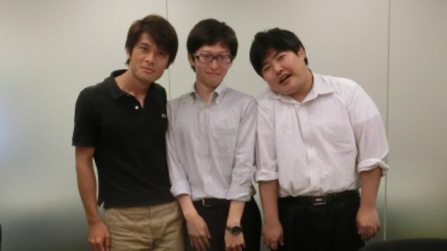 左から編集部安藤さん、筆者、ライターの江ノ島さん、そして撮影係として編集部古賀さんにも参加してもらった。