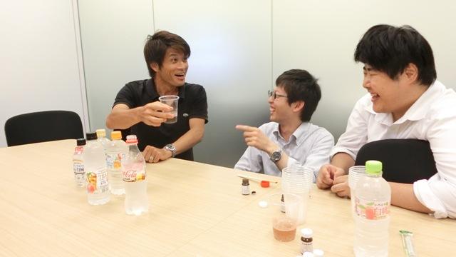 しかし安藤さんのこの表情が、本当に味が変わっていることを表している