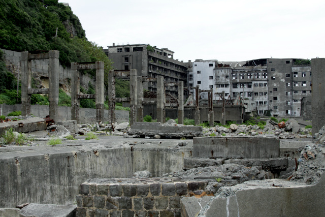 長崎ではもはや定番スポットとなった軍艦島こと端島にもようやく行けました