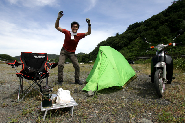 というワケで、キャンプ場にやってきた