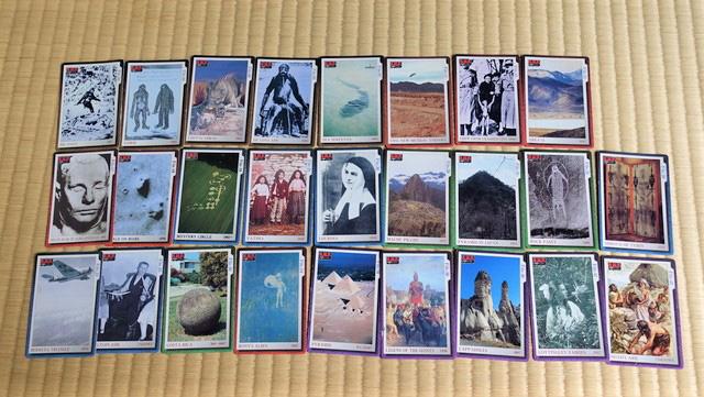これが集めたカードたち。