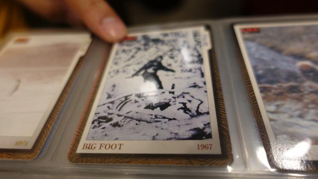 ちなみに好きなカードを聞いたところ「ビックフットやシーサーペントなどの昔ながらのUMAが好きですね」