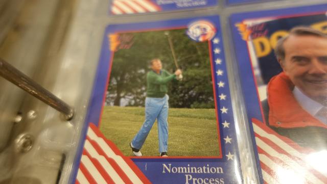 「アメリカ大統領のカードとかもありますね」