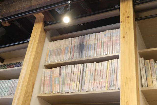 トキワ荘関連の貴重な本なども読むことができます