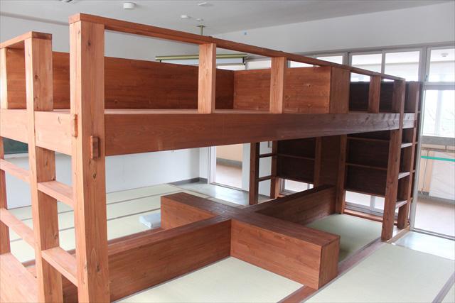 宿泊室にある「ベッド」もそのひとつ。
