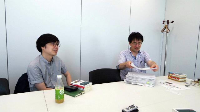 右から、酒井さんと田中さん
