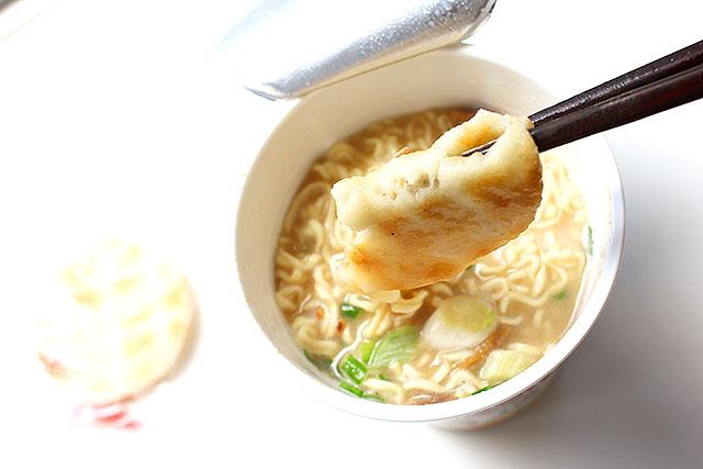 濃厚豚骨スープで融け気味のコレは、ラーメンの具としてとても良い。