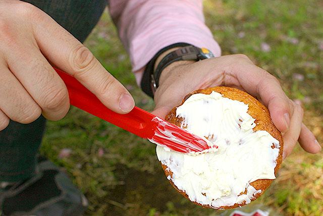 なお、堅焼き煎餅はフロマージュとマリアージュさせてもおいしい。
