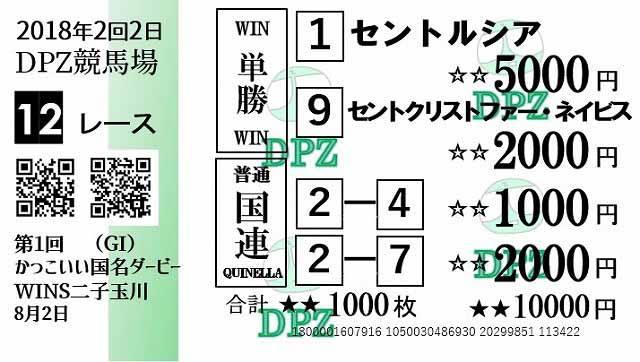 セントルシアにドーンと5000円を投入