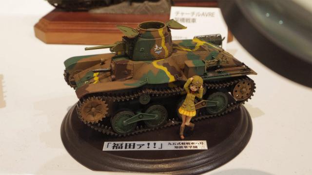 ミリタリー・こちらもガルパン。戦車兵の福田といえば、司馬遼太郎を思い出します