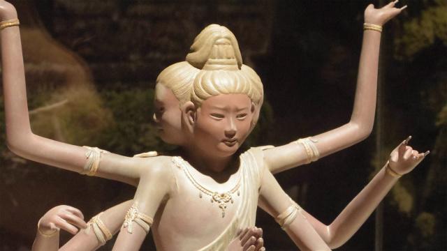 日本文化・男前な阿修羅像。当たり前なんだけど、仏像って本質的にフィギュアであることをあらためて思い知りますね