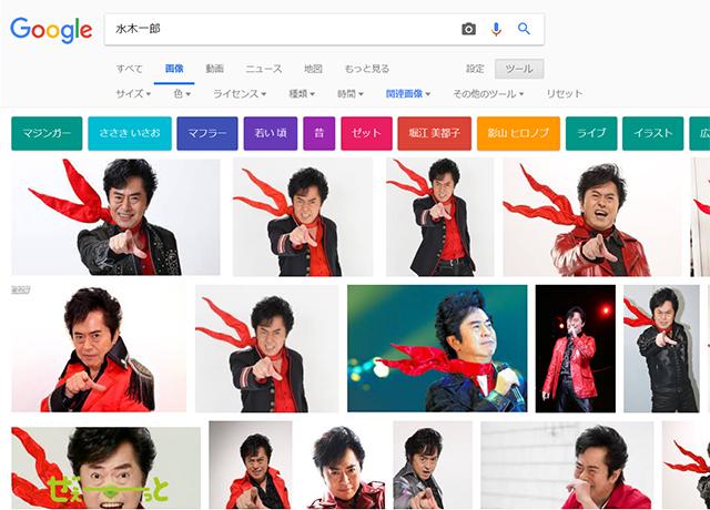水木一郎アニキ、めちゃくちゃ手を前に突き出してはりました。(Google画像検索よりキャプチャ)