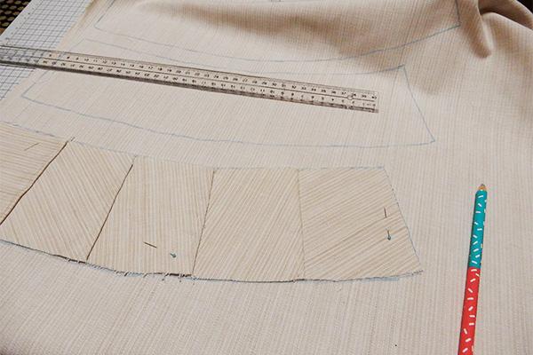 切ったり縫ったり形を合わせたりしてるうちに、正解に近づいてはきてるような……?
