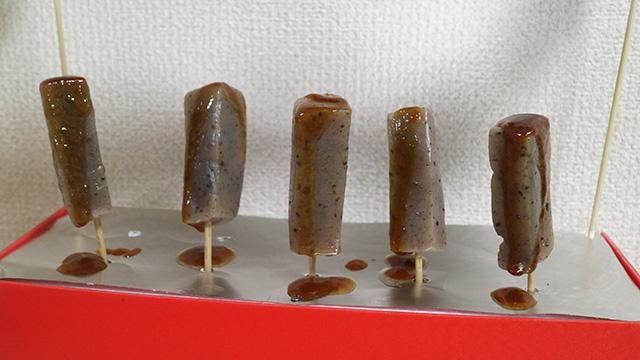 余計な味噌が落ちてカロリーを気にする人にいいと思います。そもそも味噌田楽は低カロリーですが。
