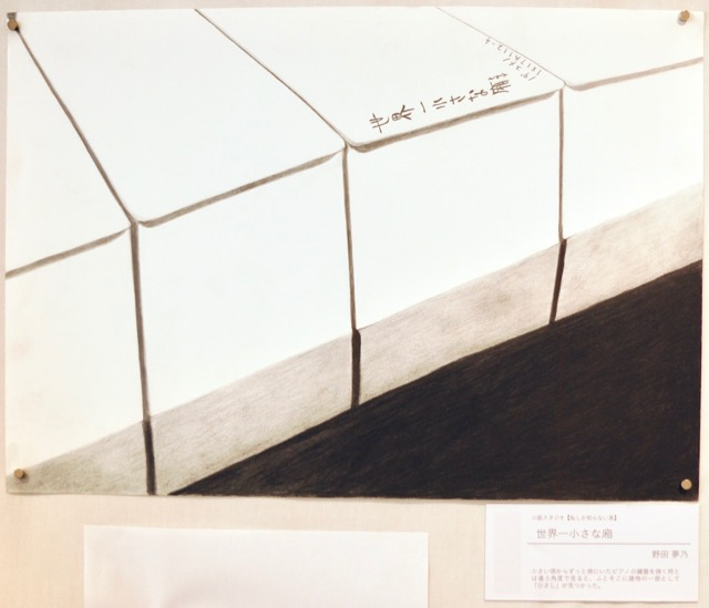 「世界一小さな庇」野田夢乃