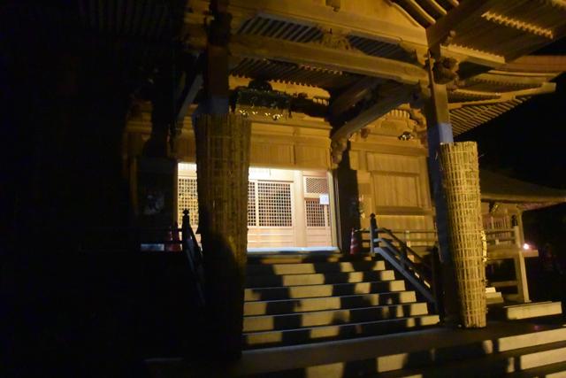 お寺の本堂。